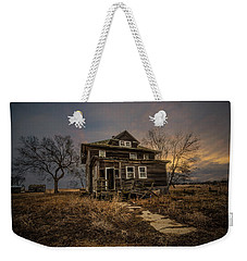 Weekender Tote Bag featuring the photograph Welcome Home by Aaron J Groen