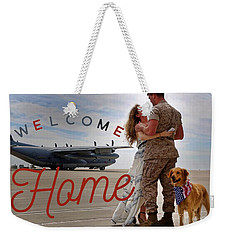 Welcome Home Weekender Tote Bag