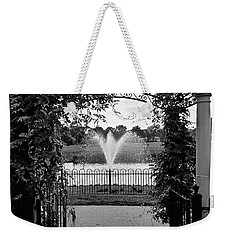 Weekender Tote Bag featuring the photograph Welcome by Robert Knight