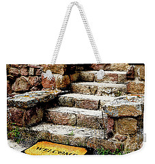 Welcome Steps Weekender Tote Bag