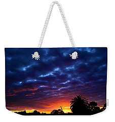Weekender Tote Bag featuring the photograph Welcome The Night by Mark Blauhoefer