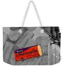 Weekender Tote Bag featuring the photograph Welcome To Bordeaux by Joan  Minchak