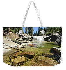 Weekender Tote Bag featuring the photograph Welcome To Dog's Dreams by Sean Sarsfield