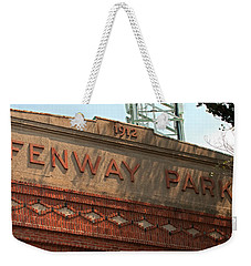 Welcome To Fenway Park Weekender Tote Bag