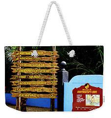 Welcome To Labadee Weekender Tote Bag