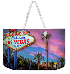 Welcome To Las Vegas Weekender Tote Bag