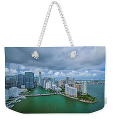 Welcome To Miami Weekender Tote Bag