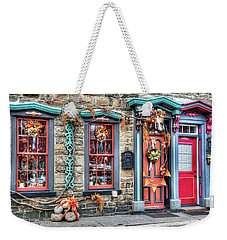 Welcome To My Row Home Weekender Tote Bag