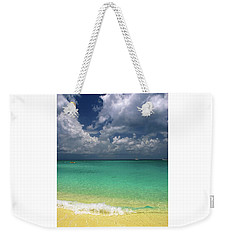Welcome To Paradise Weekender Tote Bag