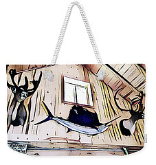Welcome To The Cabin Weekender Tote Bag