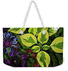 Weekender Tote Bag featuring the photograph Welcome To The Jungle by Jessica Manelis
