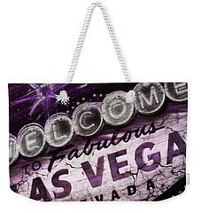 Vegas Baby Weekender Tote Bag