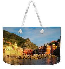 Welcome To Vernazza Weekender Tote Bag