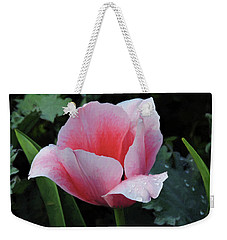 Welcome Tulip Weekender Tote Bag