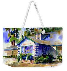 Welcome Window Weekender Tote Bag
