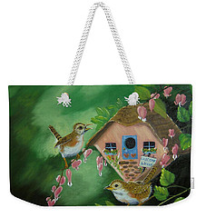 Welcome Wrens Weekender Tote Bag
