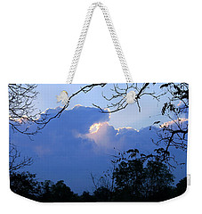 Weekender Tote Bag featuring the photograph Welcoming Light by Hanne Lore Koehler
