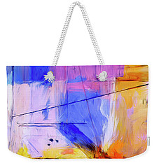 Weekender Tote Bag featuring the painting Welder by Dominic Piperata