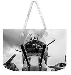 Well Armed Flying Fortress Weekender Tote Bag by Randy Scherkenbach