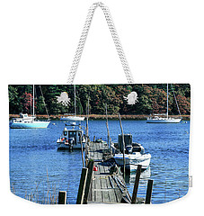 Well Worn Dock Weekender Tote Bag