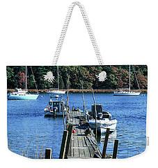Well Worn Dock Weekender Tote Bag