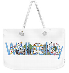 Wellesley College Weekender Tote Bag