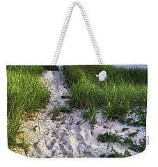 Wellfleet Beach Path Weekender Tote Bag