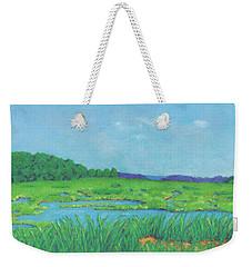 Wellfleet Wetlands Weekender Tote Bag