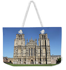 Wells Cathedral Weekender Tote Bag by Linda Prewer