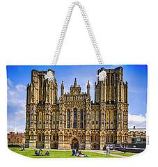 Wells Cathedral, Somerset Uk Weekender Tote Bag