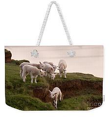 Welsh Lambs Weekender Tote Bag