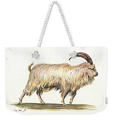 Welsh Long Hair Mountain Goat Weekender Tote Bag