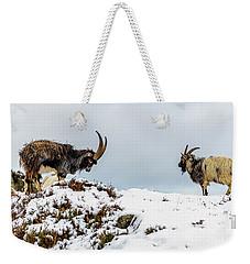 Welsh Mountain Goats Weekender Tote Bag