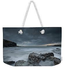 Welsh Seascape At Dusk. Weekender Tote Bag