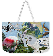 Welter Of Waterbirds Weekender Tote Bag