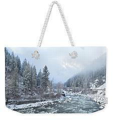Wenatchee River Weekender Tote Bag