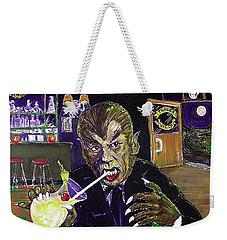 Werewolf Drinking A Pina Colada At Trader Vic's Weekender Tote Bag