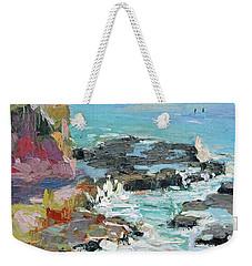 West Cliff Heat Weekender Tote Bag