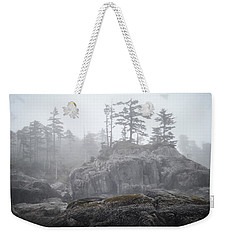West Coast Landscape Ocean Fog IIi Weekender Tote Bag