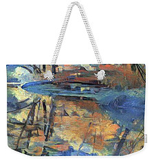 West Fork Reflection - Oak Creek Canyon Weekender Tote Bag