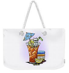 West Highland Iced Tea Weekender Tote Bag