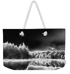 Weekender Tote Bag featuring the photograph West Lake Backlit by David Patterson