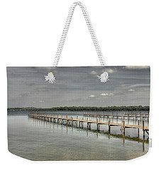 West Lake Docks Weekender Tote Bag