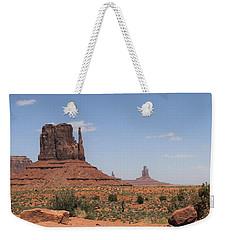 West Mitten Butte Monument Valley Weekender Tote Bag