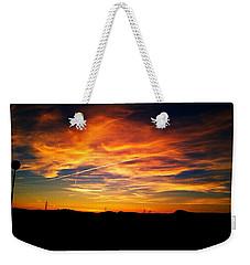 West Side Of A Sunset I Weekender Tote Bag