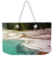 West Thumb Geyser Pool Weekender Tote Bag by Dawn Romine