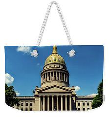 West Virginia Capitol - Charleston Weekender Tote Bag by L O C