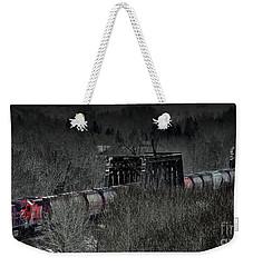 Westbound Grain II Weekender Tote Bag by Brad Allen Fine Art