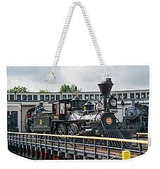 Western And Atlantic 4-4-0 Steam Locomotive Weekender Tote Bag by John Black