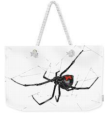 Western Black Widow - Color Weekender Tote Bag
